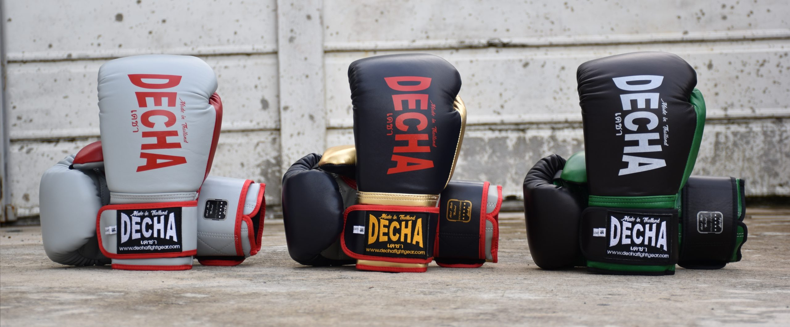 decha boxing gloves